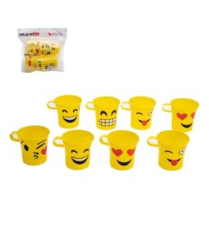 Emoji Mug 8pc Set 5Oz PP                                     643700302632
