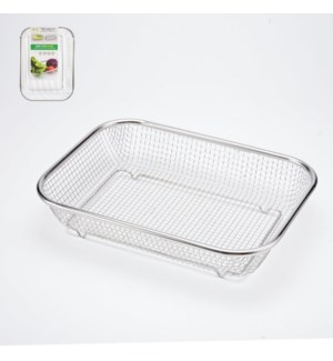 Rect. Colander SS 14.5x10.5in                                643700306517
