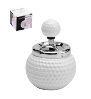 Ashtray Ceramic 4x4x5.5in                                    643700306623