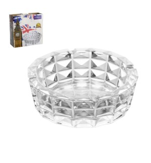 Ashtray Glass 8in                                            643700306883