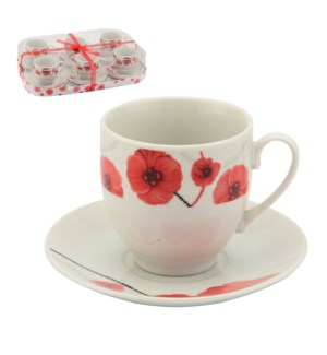 Tea Cup and Saucer Ceramic 6 and 6,7oz                       643700307330
