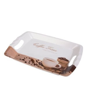 Rect. Serving Tray Melamine 18x12in                          643700307392