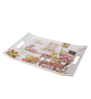 Rect. Serving Tray Melamine 22x15in                          643700307484