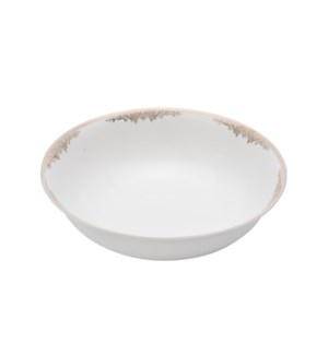 Salad Bowl 9in,Porcelain Super White Round Shape             643700311382