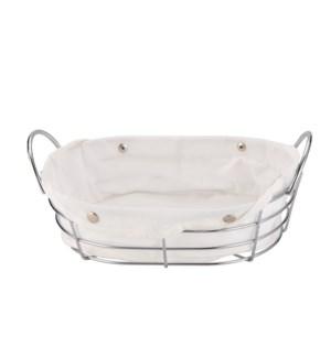 Bread Basket 11.5x7.5x4.5in                                  643700314994
