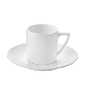 """Coffee Cup and Saucer 6 by 6,3Oz,Bone China""                643700315335"