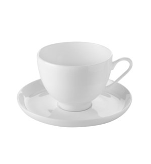 Tea Cup and Saucer 6 by 6,7.5Oz,Bone China                   643700315342