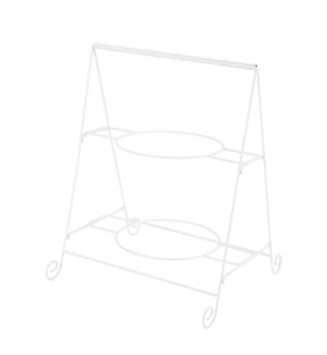 Two Tier Dish Rack 12.5x11.5x16in                            643700315755