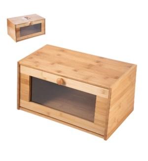 Bamboo Bread Box 15x8.5x7.5in                                643700315984