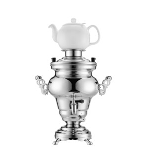 """Electric Samovar SS 5.0L,110V 1000W with Ceramic Tea Pot""   643700318145"
