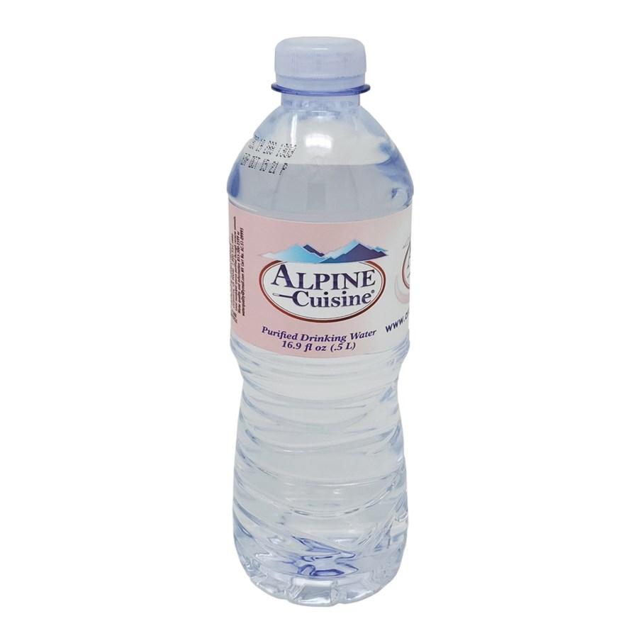 Water 500mL Plastic Bottle 24 Pack Alpine Cuisine            643700328625