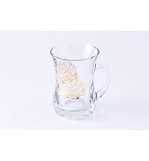 Glass Mug 2Pc Marvel Gold 7.60oz                             643700328731