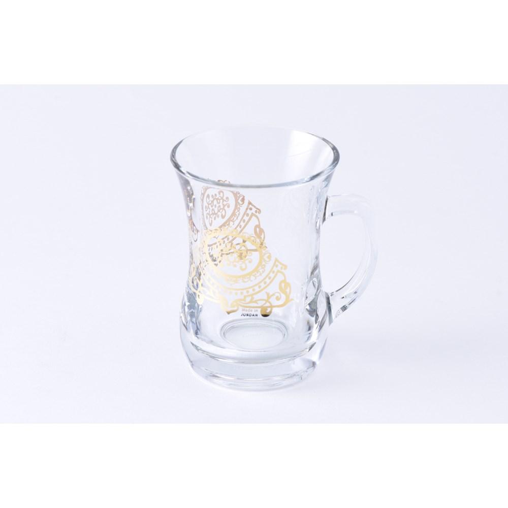 Glass Mug 2Pc Marvel Gold 7.60oz                             643700328731