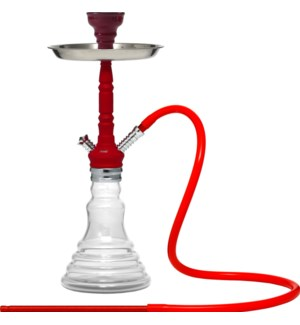 """Beya Hooka 146 21"""" off wht w/red stem ""                    643700330345"