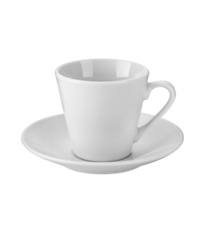 """Coffee Cup and Saucer 6 by 6,3oz Porcelain""                 643700332707"