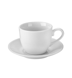 """Coffee Cup and Saucer 6 by 6,3oz Porcelain""                 643700332714"