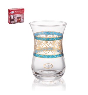Tea Glass 6pc Set 5oz                                        643700340757