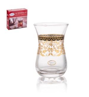 Tea Glass 6pc Set 5oz                                        643700340863