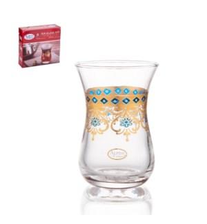 Tea Glass 6pc Set 5oz                                        643700340870