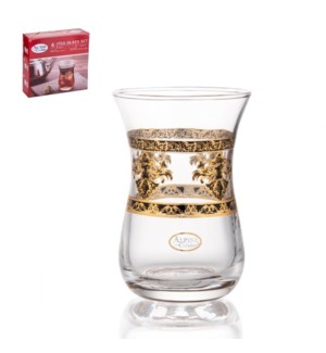 Tea Glass 6pc Set 5oz                                        643700340894
