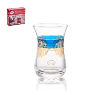 Tea Glass 6pc Set 5oz                                        643700340900