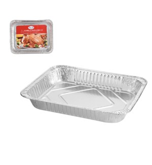 Roaster Pan Aluminum Rectangular 13x10x2in 30 gram           643700347121