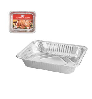 Roaster Pan Aluminum Rectangular 13x10.5x2.5in 32 gram       643700347138