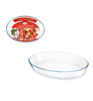 Glass Baking Tray 2.4L Oval                                  643700347534