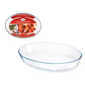 Glass Baking Tray 3.0L Oval                                  643700347541