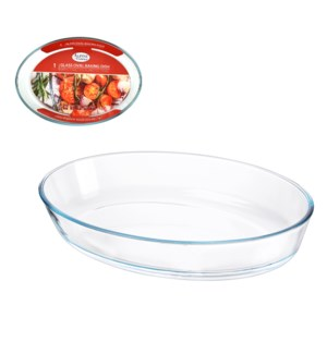 Glass Baking Tray 4.0L Oval                                  643700347558