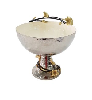 Beige Enamel Bowl 9x9in                                      643700351340