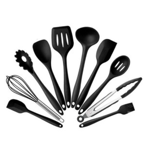 Utensil 10pc Set Silicone                                    643700353092