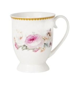Mug 10oz with golden line New Bone China                     643700355294