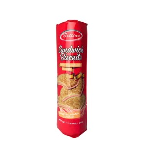 Bettino Sandwich Biscuits with Strawberry Filling 17.6oz 500 643700361370