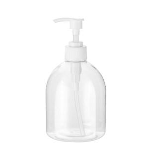 Plastic  Bottle with pump  17.6Oz                            643700341464