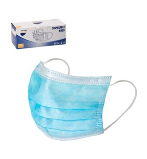 Disposable Face Mask 3 Ply                                   643700341433