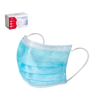 Disposable Face Medical Mask 3 Ply                           643700341198
