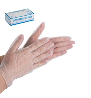 Disposable Gloves L Size 100pcs per box                      643700340979