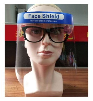 Face shield 13.78*9.45*1.18in 25cc                           643700340993