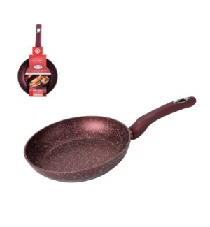 Fry Pan 8in Forged Alum., Nonstick with Marble Coating, Sili 643700290373