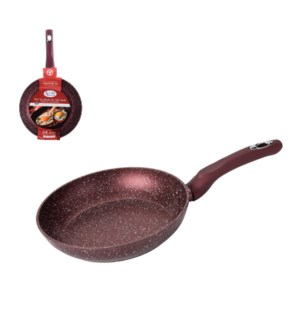 Fry Pan 9.5in Forged Alum. Nonstick with Marble Coating, Sil 643700290380