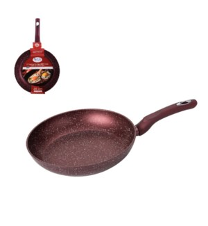 Fry Pan 11in Forged Alum. Nonstick with Marble Coating, Sili 643700290397