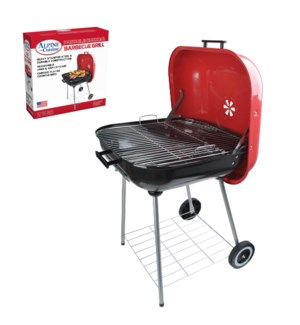 BBQ Grill Square 22x25in Red color                           643700155405