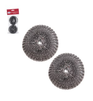 Scrubber 2pc Set SS 4in                                      643700312228