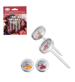 Thermometer SS 2.5in                                         643700311924