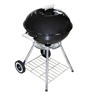 BBQ Grill Round 18x31in Black color                          643700059963