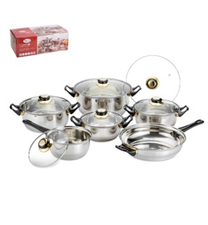 Cookware 12pc Set SS                                         643700062826