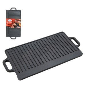 Cast Iron Griddle 20x9in                                     643700217424