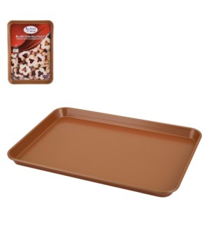 Cookie Pan Carbon Steel 12x17in Copper Nonstick Coating      643700264657