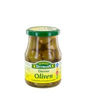 Dittmann Queen Olives Stuffed with Garlic 11.64oz 330g       400223940500